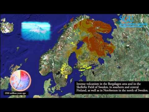 Sweden's geological history