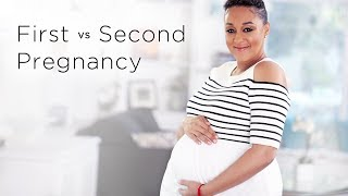 Tia Mowry's Second Baby vs. First Baby Pregnancy Update | Quick Fix