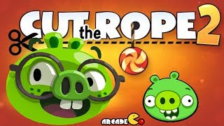 Bad Piggies - Cut The Rope 2 Gameplay Walkthrough All Levels