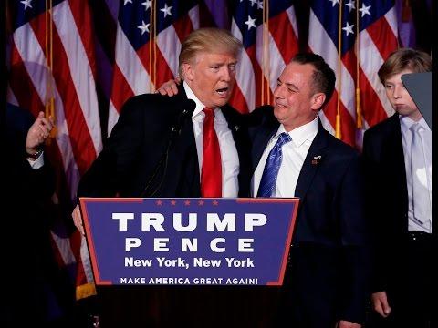 Trump picks Priebus as White House chief of staff