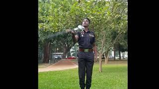 Drum Major - Sri Lanka Army Band - Anjula De Soysa