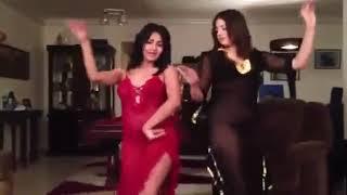 رقص  مني فاروق وشيما الحج