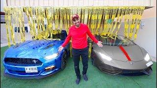 MY NEW CUSTOM CAR GARAGE !!!