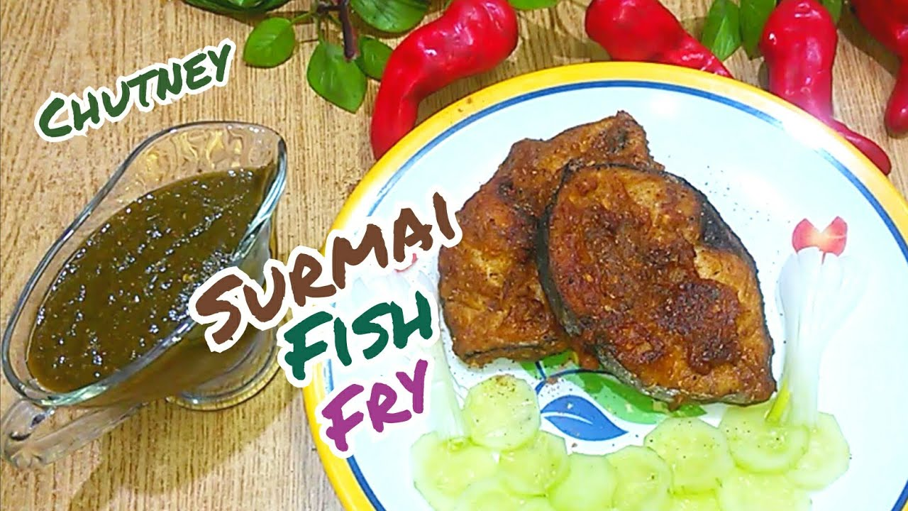 Winter Special Surmai Fish Fry With Chutney Recipe In Urdu Hindi Home Cooking By Sana