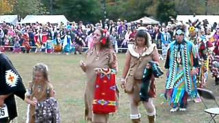 Native American Indian Fashions at TN Pow Wow Opening Ceremonies Thumbnail