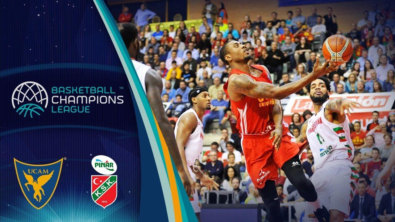 UCAM Murcia v Pinar Karsiyaka - Full Game - Quarter-Finals - Basketball Champions League 2017