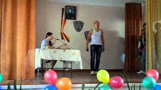 День Учителя 2012 - Сценка