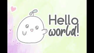 *:・゚✧ Hello World - Animatic (flipaclip) *:・゚✧