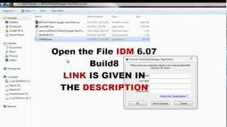 IDM 6.07 Build8 - Fake Serial Number Crashing - Keygen + Patch