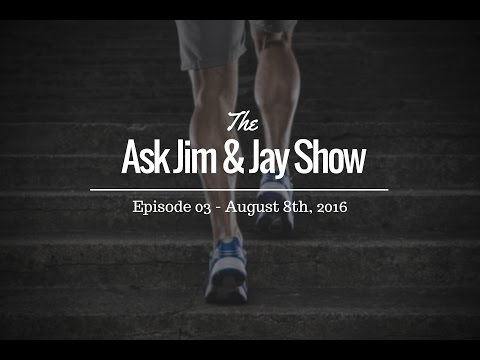 "This week we talk ""Supplements"" on the Ask Jim & Jay Show"