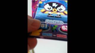 Moshi monsters mash up party booster box opening (part 2.))