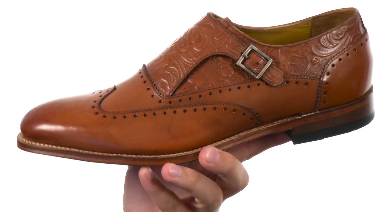 Stacy Adams Madison II Monk Strap Wingtip SKU:8743292