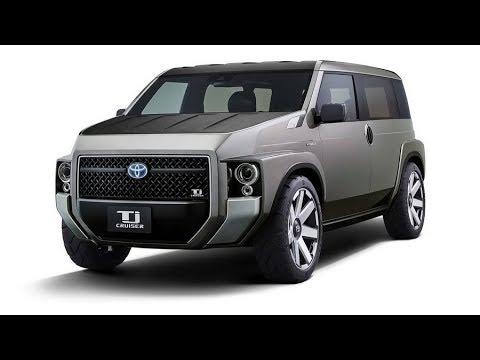 Toyota показала брутальный кроссовер минивэн. Toyota Tj Cruiser