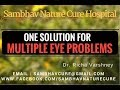Simple Cure for Eye Problems - Multiple Eye disorders acupressure point sujok treatment in hindi