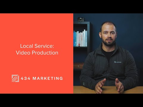 434 Marketing Local Service - Video Production