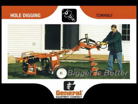 General Equipment Company Hole Digging Products