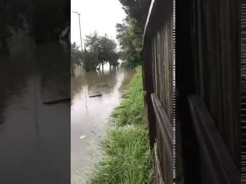 Katy Islamic Academy, Houston Quran Academy, Katy-MAS flood video