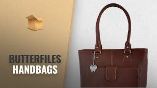 Our Favorites Butterfiles Handbags 2018 Butterflies Handbag Tan BNS 0532 TN