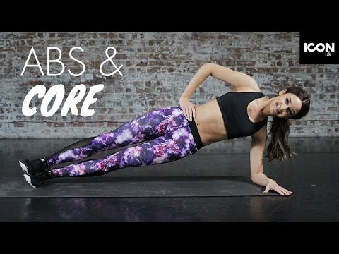 Workout: Abs and core  Danielle Peazer