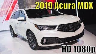 New Acura MDX A Specs 2019 Review - Interior Exterior