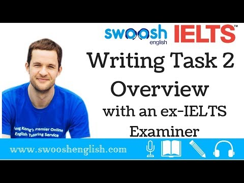 IELTS Writing Task 2 Overview with an ex-IELTS Examiner: Part 1