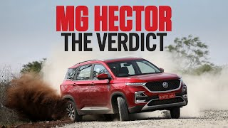 MG Hector first drive review: Petrol and diesel variants tested | evo India