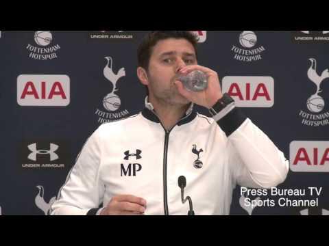 Mauricio Pochettino pre Liverpool vs Tottenham