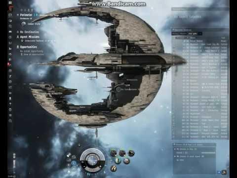 EVE ONLİNE Interstellar Railroad 3 of 4 Objectives