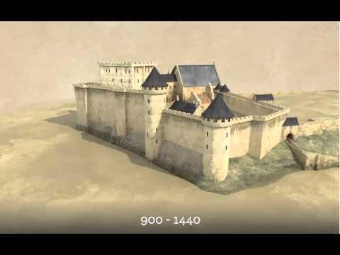 Reconstitution virtuelle de l'Histoire du château royal de Blois