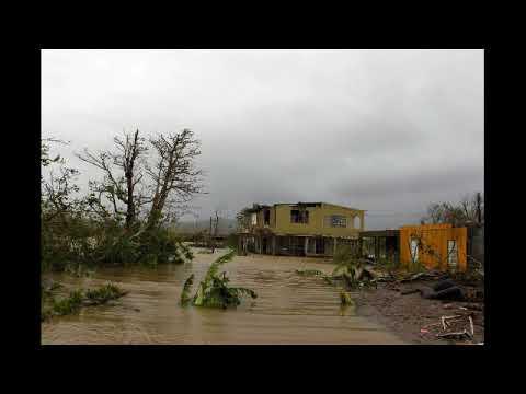 Imagenes del Huracan Maria en  Puerto Rico Yabucoa,Fajardo,Area Metro