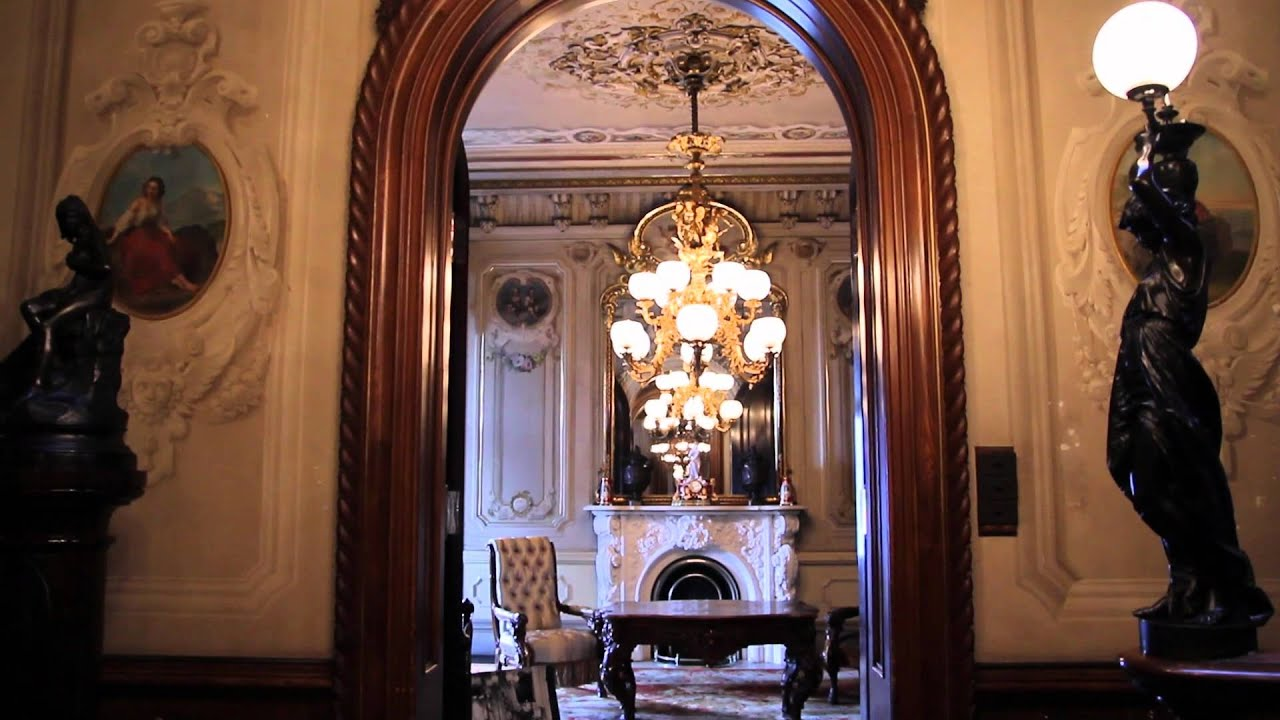 Victoria Mansionu0027s Interiors   YouTube
