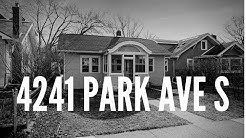 4241 PARK AVE S Lake Nokomis Home For Sale