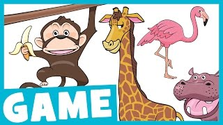 Learn Zoo Animals for Kids   What Is It? Game for Kids   Maple Leaf Learning