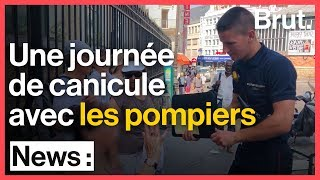 Une journée de canicule avec les sapeurs-pompiers de Paris