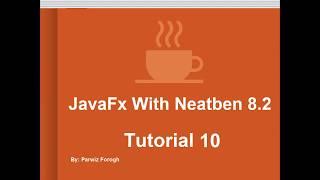 10   JavaFx FileChooser