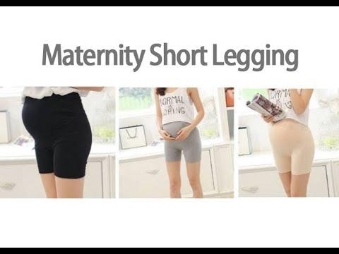 Maternity Short Legging Demo Video