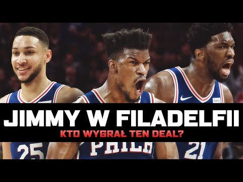 JIMMY BUTLER w Philadelphia 76ers! ► NBA po POLSKU
