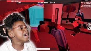 NEVER PLAY ROBLOX FLEE THE FACILITY WITH YOUR SISTER! | Yoshidoll