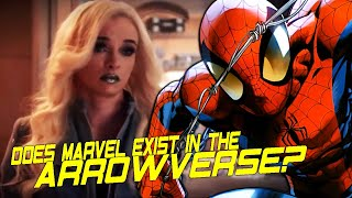 Does Marvel Comics Exist In the Arrowverse? Arrowverse Marvel References Breakdown