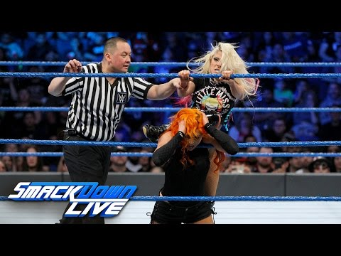 Becky Lynch vs. Alexa Bliss - SmackDown Women's Championship Match: SmackDown LIVE, Feb. 21, 2017