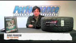 overview of advan sport neova ad08 yokohama s drive