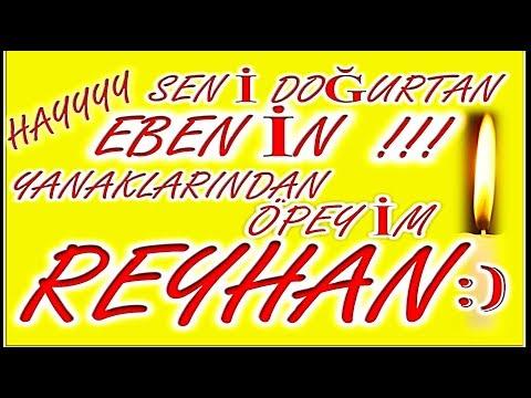 İyi ki Doğdun Reyhan İsme Özel Komik Doğum Günü Şarkısı