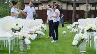 Оформление свадьбы цветами: