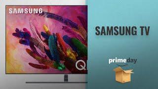 "Save Big On Samsung TV Prime Day Deals: Samsung QN65Q7F FLAT 65"" QLED 4K UHD 7 Series Smart TV"