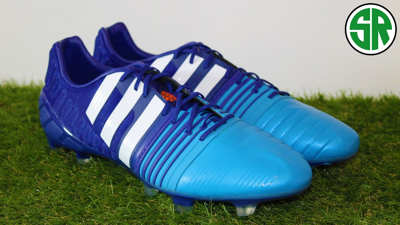 blue adidas nitrocharge 1 0 fg soccer shoes youtube. Black Bedroom Furniture Sets. Home Design Ideas