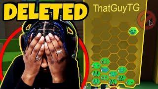 GIRLFRIEND Löscht MEINE BEES in Bee Swarm Simulator, ich brach mit ihr... (Roblox)