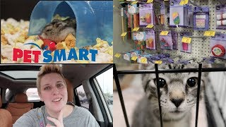 LET'S GO TO PETSMART | Pet Store Vlog