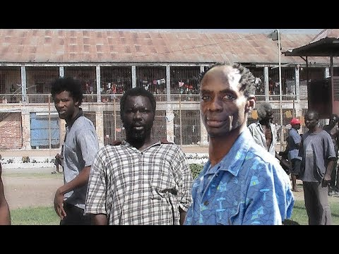 EXCLUSIVE: Ninjaman & Prisoners DIS La Lewis and Dr. Love at Spanish Town Prison
