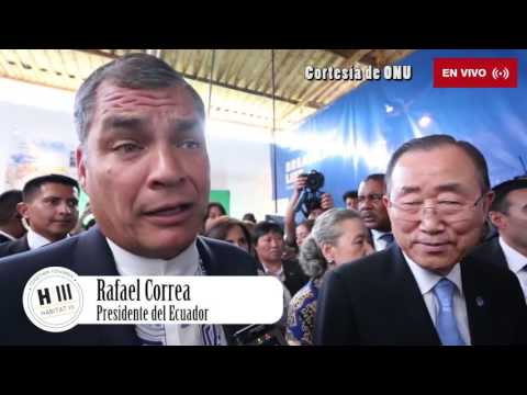 Breacking news - Inauguración Habitat III (Quito - Ecuador)