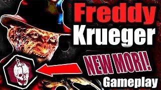 FREDDY KRUEGER | NEW KILLER AND MORI GAMEPLAY! - Dead by Daylight